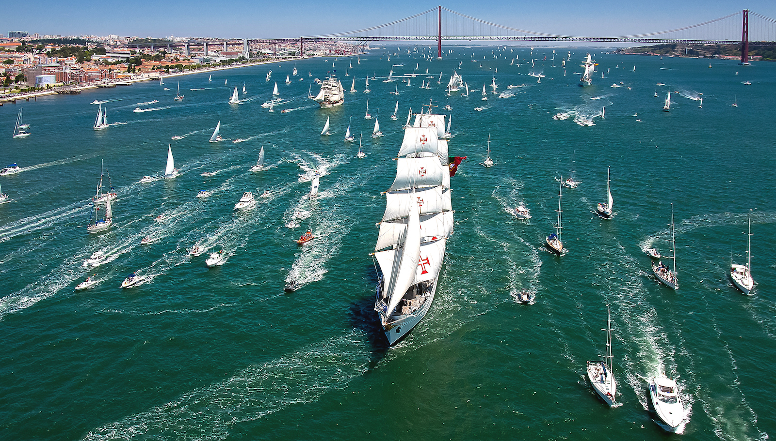 The Tall Ships Races in Portugal
