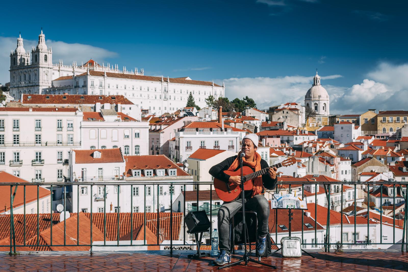 Lisbon, Portugal view
