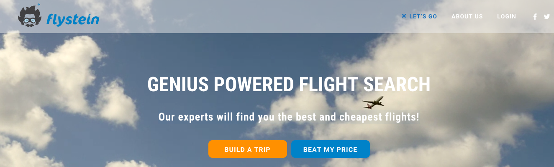 Flystein Homepage