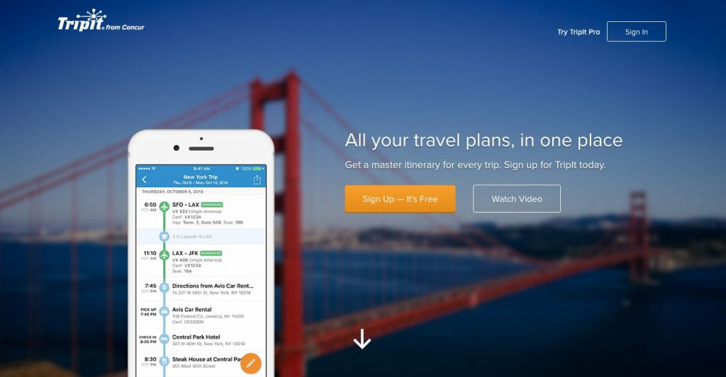 tripit-travel-apps
