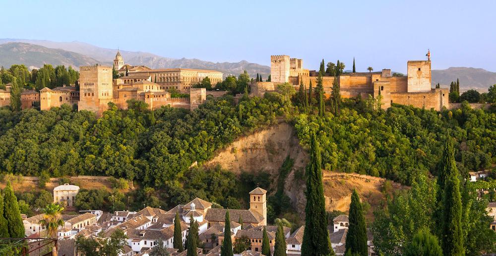Flystein espanol castellano encontrar vuelos baratos Alhambra Granada España Spain